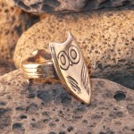 owl branch ring
